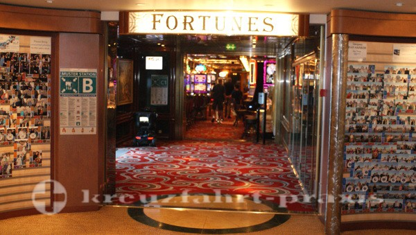 Celebrity Summit - Fortunes Casino