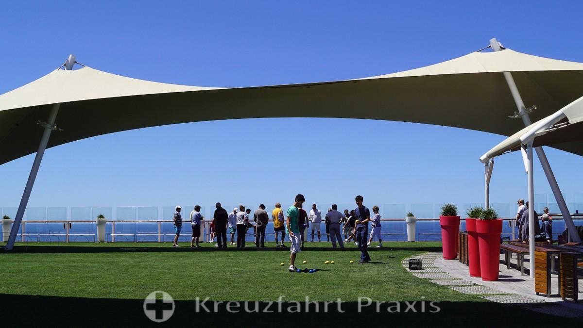 Boule-Turnier auf dem Lawn Club
