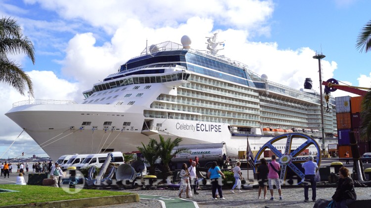 Celebrity Eclipse in Montevideo