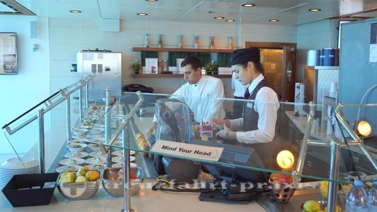 Celebrity Eclipse - AquaSpa Cafe – Cruise Ship Restaurant ...