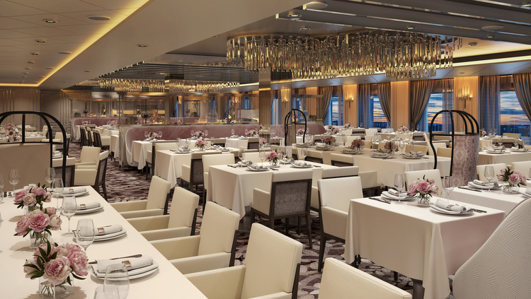 Celebrity Edge - Normandie Restaurant