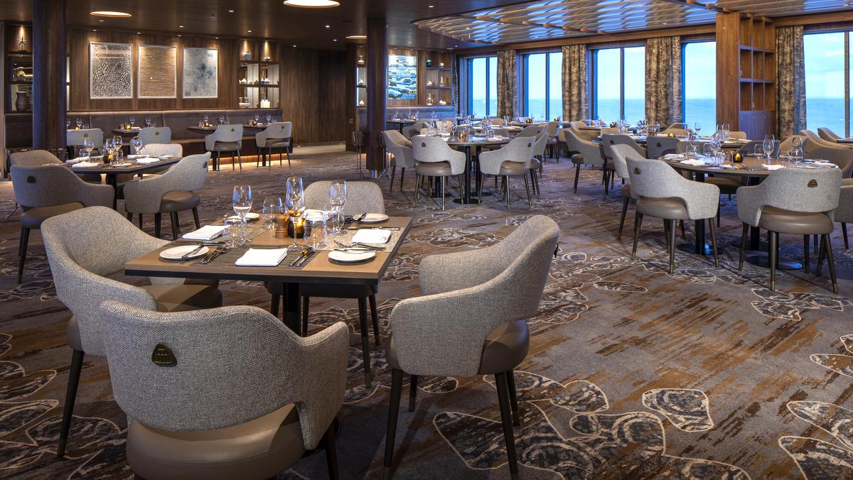Celebrity Flora - Seaside Restaurant