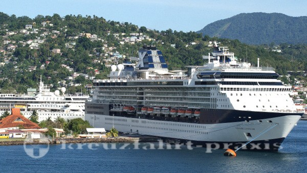 Celebrity Millennium in St. Lucia