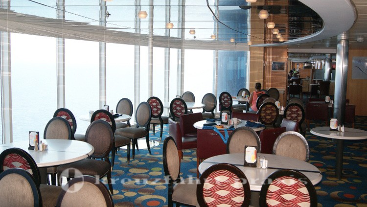 Celebrity Millennium - Oceanview Buffet Restaurant