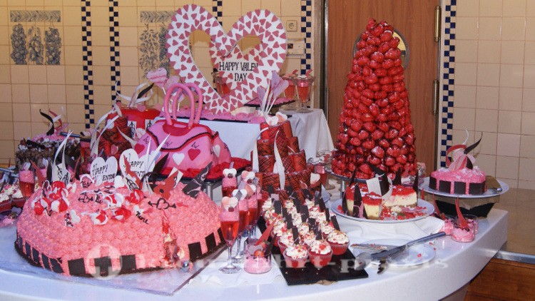 Oceanview Buffet Restaurant - Valentine's Day Sweets