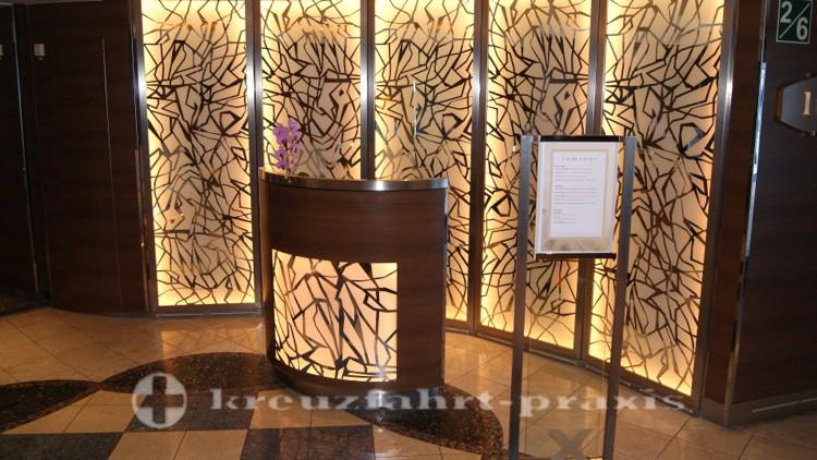 Celebrity Millennium - Empfangsbereich im Luminae Restaurant
