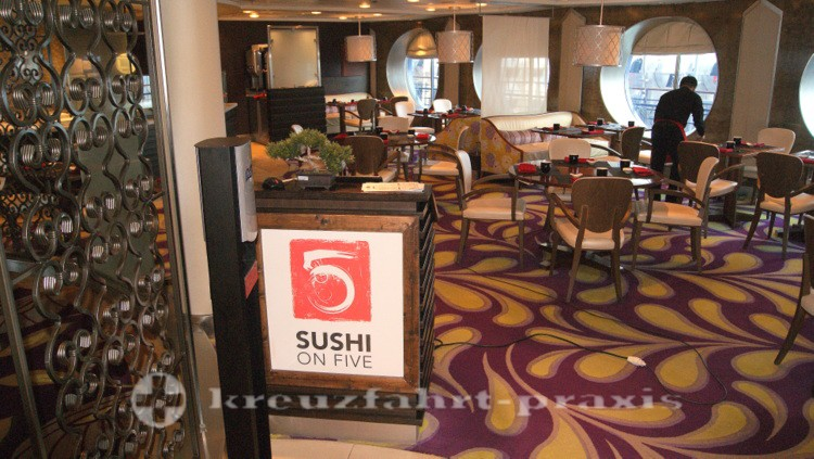 Celebrity Millennium - Sushi on Five