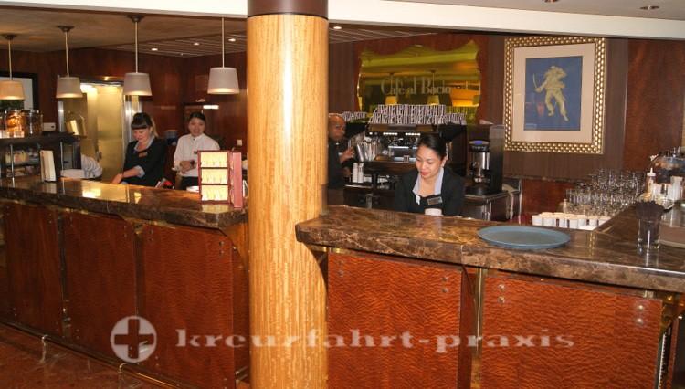 Celebrity Millennium - Café al Bacio