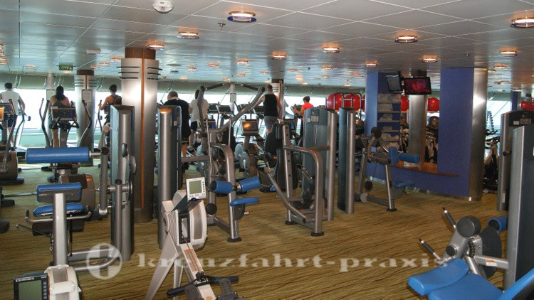 Celebrity Millennium - Gym