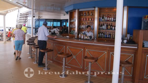 Die Sunset Bar der Celebrity Millennium