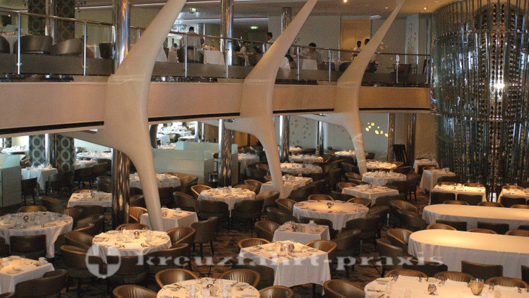 Celebrity Reflection - Opus Dining Room - untere Ebene
