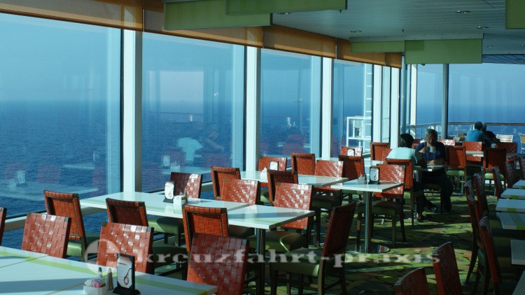 Celebrity Reflection - Oceanview Café