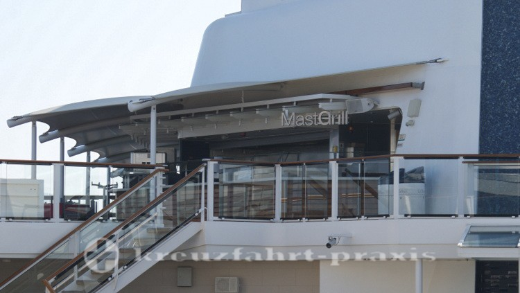 Celebrity Reflection - Mast Grill