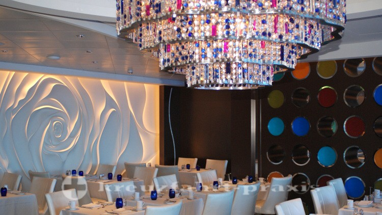 Celebrity Reflection - Blu Restaurant
