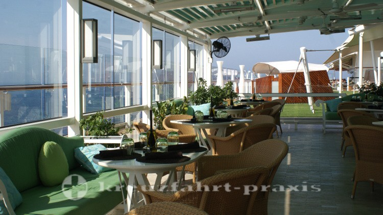 Celebrity Reflection - The Porch
