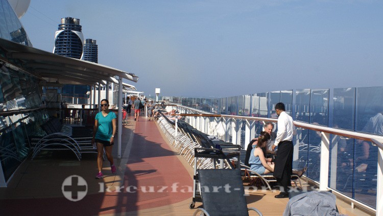 Celebrity Reflection - Jogging Parcours