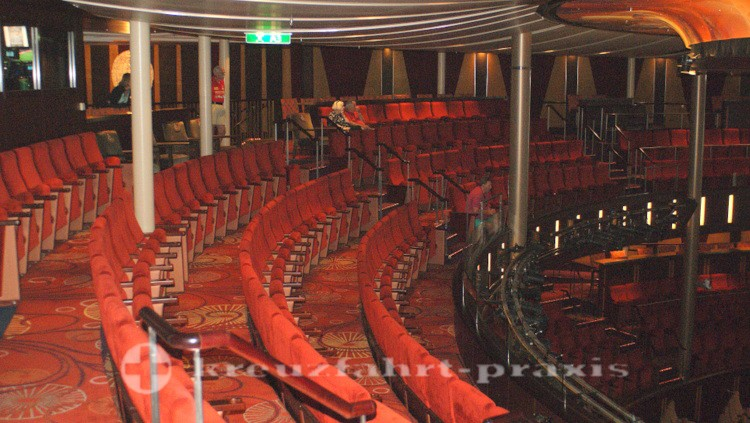 In the theater of Celebrity Reflection