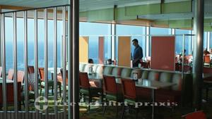 Oceanview Café - inside to port