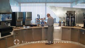 Oceanview Café - beverage station