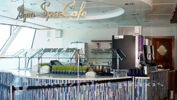 Celebrity Silhouette - Aquaspa Cafe