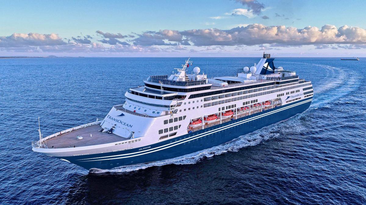 TransOcean Kreuzfahrten: Neues Schiff heißt IDA PFEIFFER