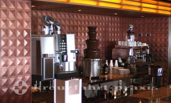 Costa Deliziosa - Schokoladenbrunnen in der Caffetteria