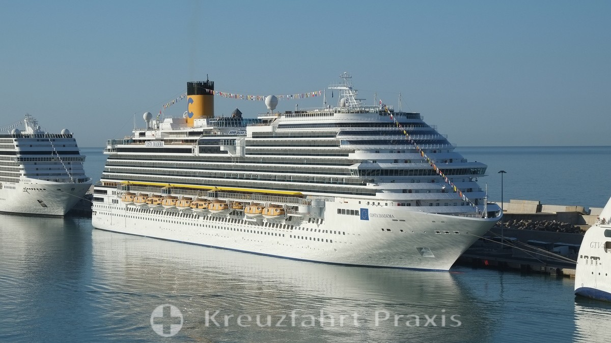 Costa Diadema in Civitavecchia - Port of Rome