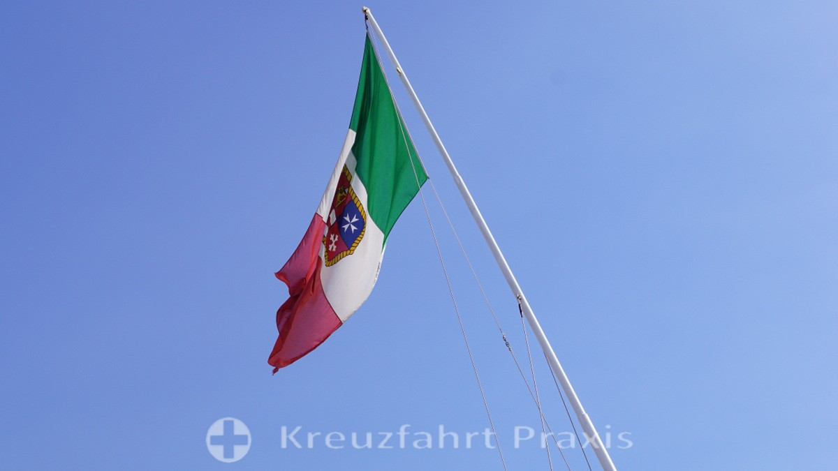 Schiffsflagge der Costa Fortuna