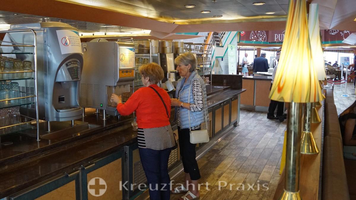 Getränkestation im Buffetrestaurant