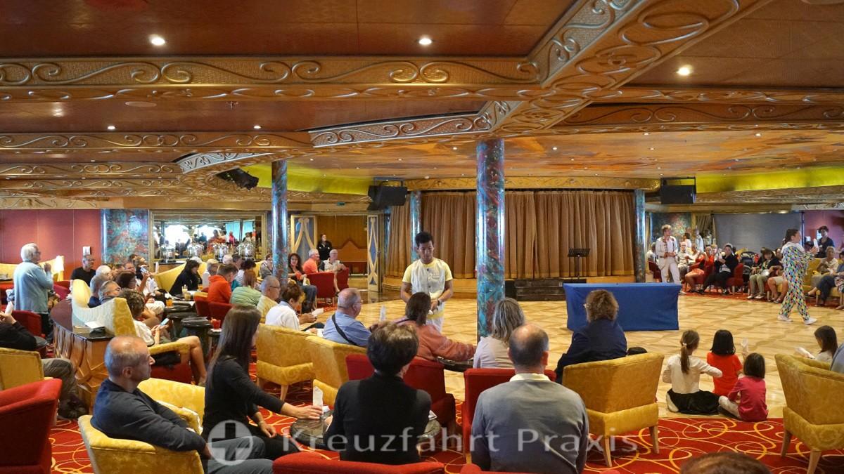 Veranstaltung in der Grand Bar di Savoia
