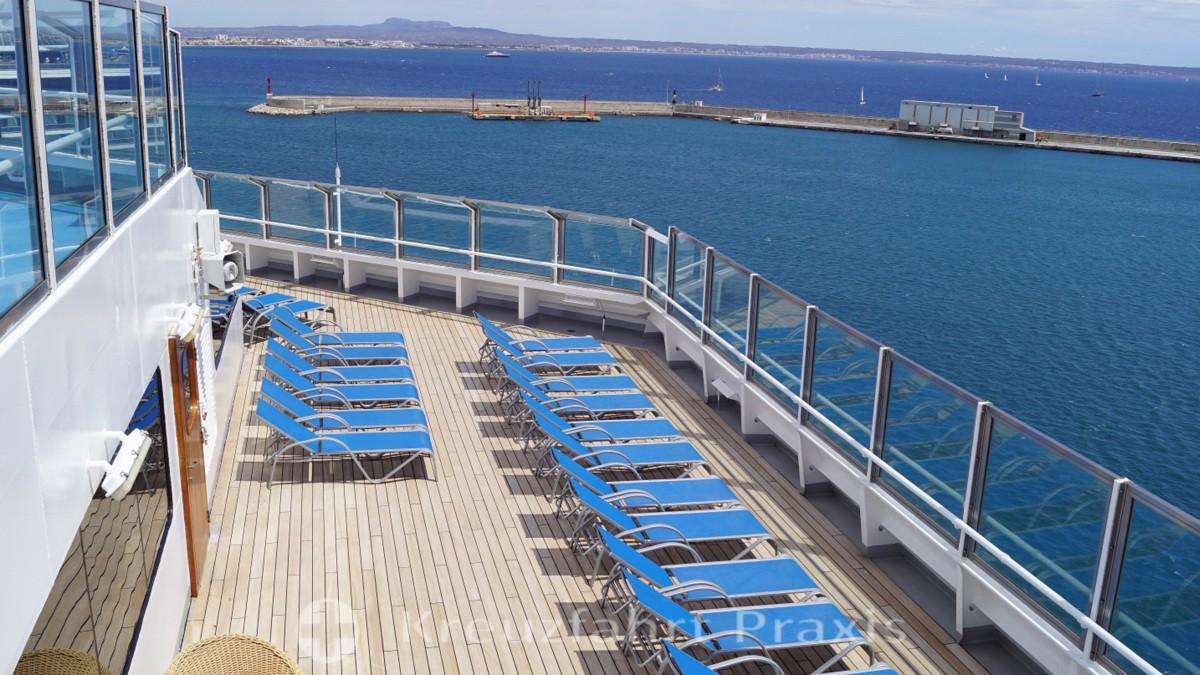 Mein Schiff 2 - Tag 1 - Auf See