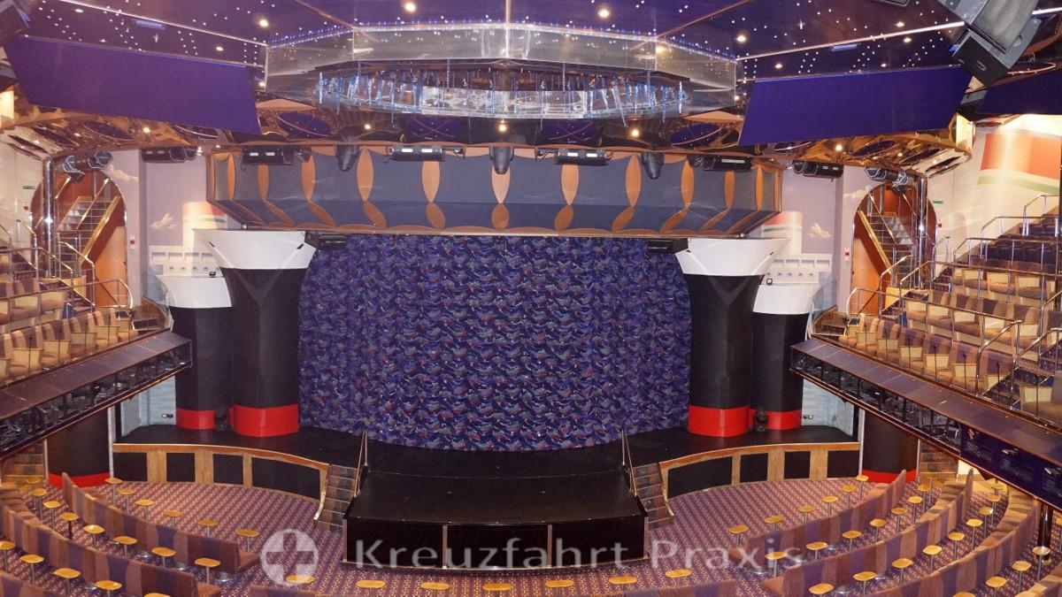 Bühne des Teatro Rex