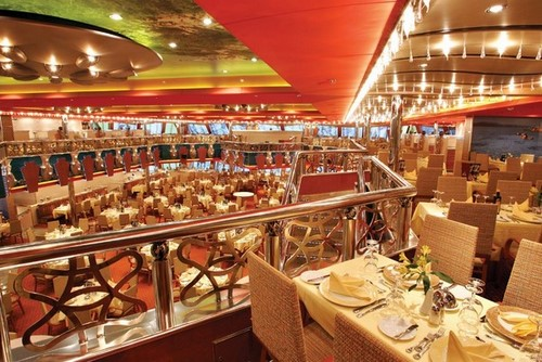 Costa Magica - Restaurant Costa Smeralda