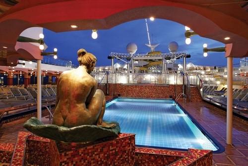 Costa Magica - Poolbereich