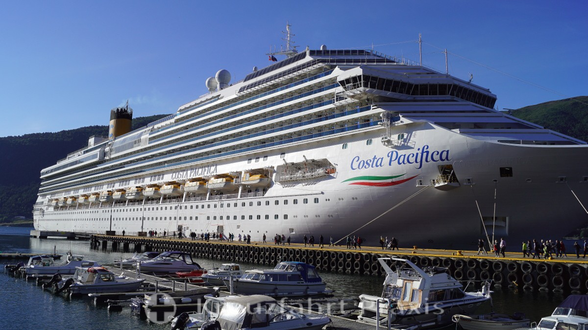 Costa Pacifica in Åndalsnes