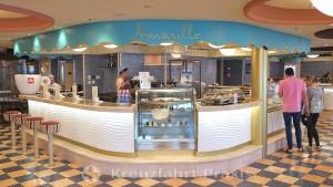 Amarillo ice cream parlor