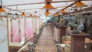 Samsara Spa relaxation room