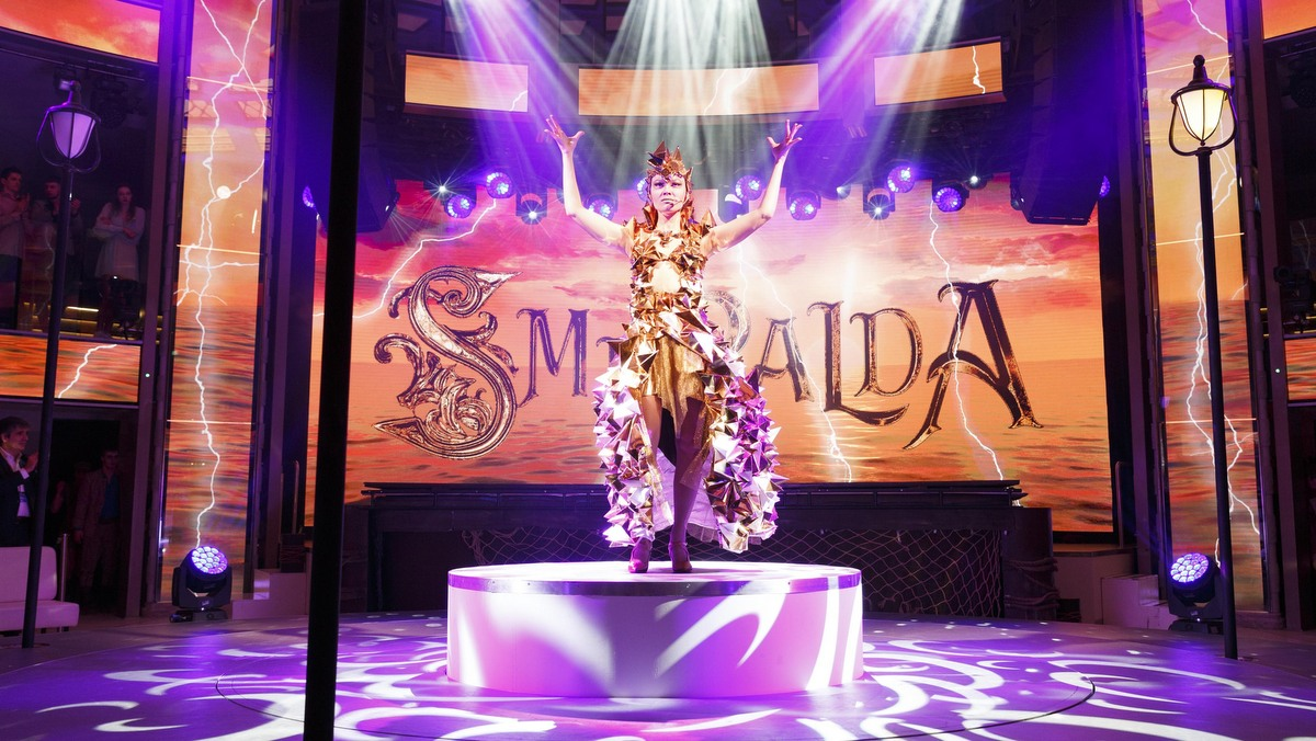 Costa Smeralda - Show im Colosseo-Theater
