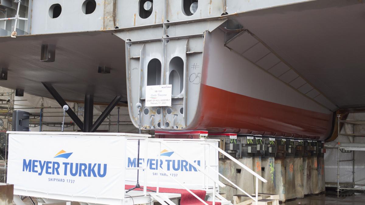 Costa Toscana - Floating Engine Room Unit