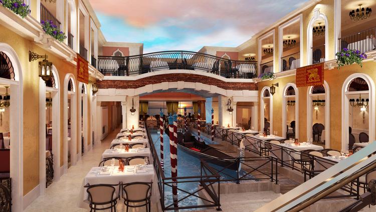 Costa Venezia - Canal Grande Restaurant