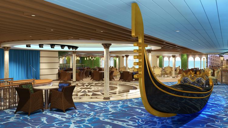 Costa Venezia - Gondola Lounge
