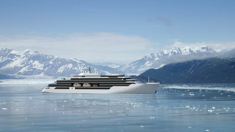 Crystal Cruises - Crystal Endeavour-Rendering