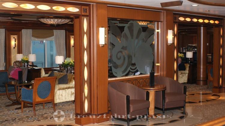 Cunard - Queen Victoria - Cafe Carinthia