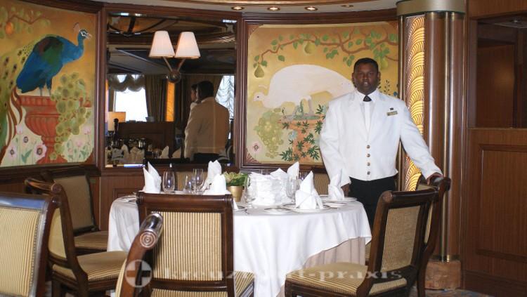 Cunard - Queen Victoria - Queens Grill