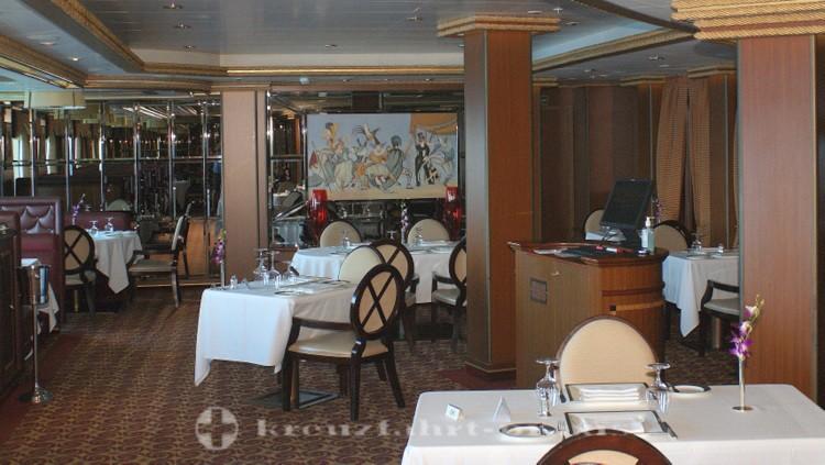 Cunard - Queen Victoria - table in the Verandah Restaurant