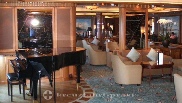 Cunard - Queen Victoria - Chart Room Bar