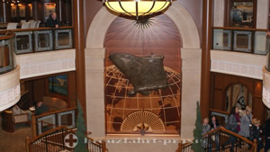 Wall relief in the Grand Lobby