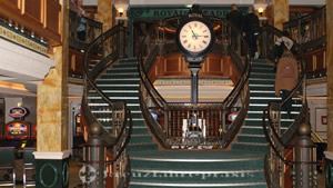 Royal Arcade with clock