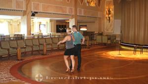 Dance floor in the Queens Room
