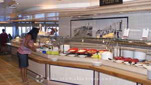 Lido restaurant buffet